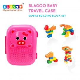 Blagoo Baby Travel Case Construction Toy Set 26 Pcs