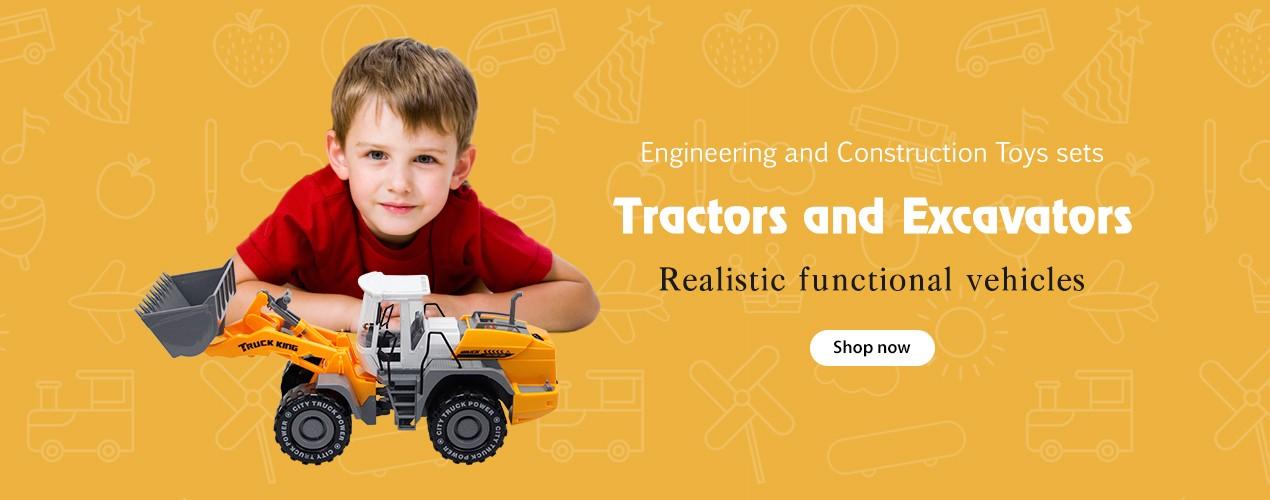 Tractors and Excavators