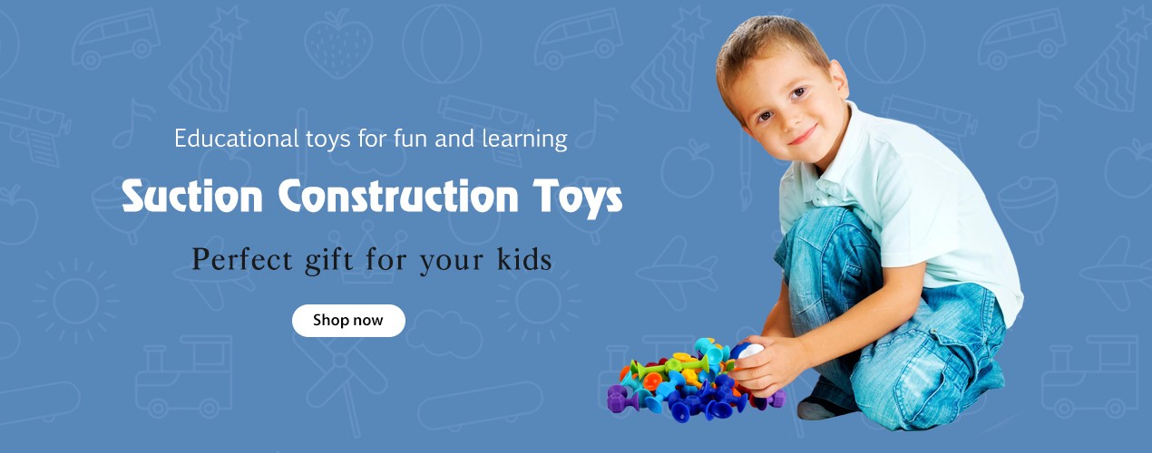 Suction Construction Toys